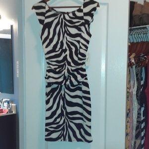 NWTs Zebra Print Dress